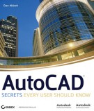 autocad secrets every user should know: part 1