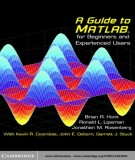 Ebook A guide to MATLAB for beginners and experienced users: Part 1