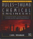 Ebook Rules of thumb for chemica engineers (3E): Part 1
