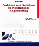 Ebook Problems and solutions in mechanical engineerig: Part 1