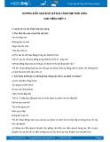 Hướng dẫn giải bài tập bài Cảnh đẹp non sông SGK Tiếng Việt 3