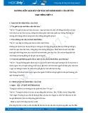 Hướng dẫn giải bài tập bài Chõ bánh khúc của dì tôi SGK Tiếng Việt 3
