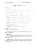 Bài giảng Vật liệu xây dựng: Chương 2: Vật liệu đá thiên nhiên