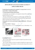 Hướng dẫn giải bài C3,C4,C5,C6 trang 44 SGK Vật lý 7
