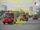 Bài tiểu luận An toàn lao động: Cháy trong sản xuất