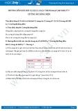 Hướng dẫn giải bài C3,C4,C5 trang 68 SGK Vật lý 7