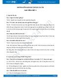Hướng dẫn giải bài tập bài Cái cầu SGK Tiếng Việt 3