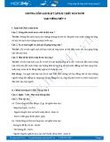 Hướng dẫn giải bài tập bài Chiếc máy bơm SGK Tiếng Việt 3