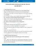 Hướng dẫn giải bài tập bài Người tri thức yêu nước SGK Tiếng Việt 3