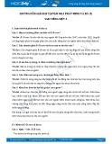 Hướng dẫn giải bài tập bài Nhà bác học và bà cụ SGK Tiếng Việt 3
