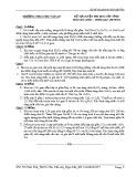 Đề tự luyện thi HSG cấp tỉnh môn Hóa học 9 - Trường THCS Chu Văn An
