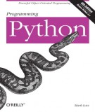 Ebook Programming python (4th edition): Part 1