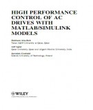 Ebook High performance control of AC drives with matlab simulink models: Part 1