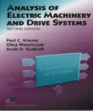 Ebook Analysis of electric machinery and drive systems (2nd edition): Part 1