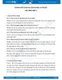 Hướng dẫn giải bài tập bài Nhà ảo thuật SGK Tiếng Việt 3