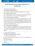 Hướng dẫn giải bài tập bài Chương trình xiếc đặc sắc SGK Tiếng Việt 3