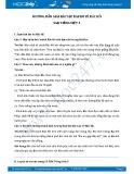 Hướng dẫn giải bài tập bài Em vẽ Bác Hồ SGK Tiếng Việt 3