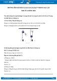 Hướng dẫn giải bài C3,C4,C5,C6,C7 trang 52 SGK Vật lý 6