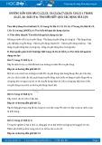 Hướng dẫn giải bài C8,C9,C10,C11 trang 26 SGK Vật lý 6