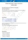 Giải bài tập Đường thẳng SGK Toán 2
