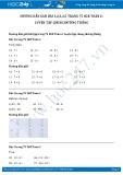Giải bài tập Luyện tập chung đường thẳng SGK Toán 2