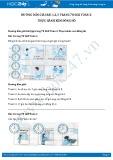 Giải bài tập Thực hành xem đồng hồ SGK Toán 2