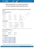 Giải bài tập Ôn tập về phép cộng và phép trừ (tiếp theo 2) SGK Toán 2