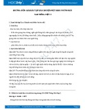 Hướng dẫn giải bài tập bài Chuyện một khu Vườn nhỏ SGK Tiếng Việt 5