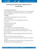 Hướng dẫn giải bài tập bài Một chuyên gia máy xúc SGK Tiếng Việt 5
