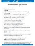 Hướng dẫn giải bài tập bài Sắc màu em yêu SGK Tiếng Việt 5