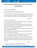 Hướng dẫn giải bài tập bài Luyện từ và câu - Từ đồng nghĩa SGK Tiếng Việt 5