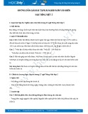 Hướng dẫn giải bài tập bài Nghìn năm văn hiến SGK Tiếng Việt 5