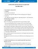 Hướng dẫn giải bài tập bài Cái gì quý nhất SGK Tiếng Việt 5