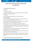 Hướng dẫn giải bài tập bài Người gác rừng tí hon SGK Tiếng Việt 5