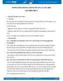 Hướng dẫn giải bài tập bài Thư gửi các học sinh SGK Tiếng Việt 5