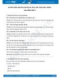 Hướng dẫn giải bài tập bài Sự tích chú cuội cung trăng SGK Tiếng Việt 3