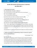 Hướng dẫn giải bài tập bài Ô-lim-pích SGK Tiếng Việt 3