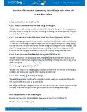 Hướng dẫn giải bài tập bài Sự tích lễ hội Chử Đồng Tử SGK Tiếng Việt 3