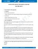 Hướng dẫn giải bài tập bài Rừng ngập mặn SGK Tiếng Việt 5