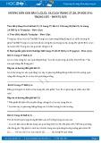 Hướng dẫn giải bài C5,C6 trang 29 SGK Vật lý 6
