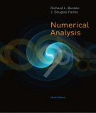Ebook Numerical analysis (9th edition): Part 1