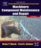 machinery component maintenance and repair (volume 3 - 3rd edition): part 1