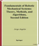 Ebook Fundamentals of robotic mechanical systems: Part 2