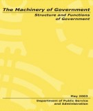 Ebook The machinery of government: Part 1