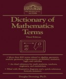 Ebook Dictionary of mathematics terms (3rd edition): Part 2