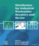 Ebook Membranes for industrial wastewater recovery and Re-use: Part 1