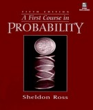 Ebook A first course in probability (5th edition): Part 1