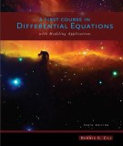 Ebook A first course in differential (10th edition): Part 1