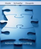 advanced accounting (10th edition): part 1
