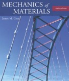 Ebook Mechanics of materials (6th edition): Part 1 - James M.Gere